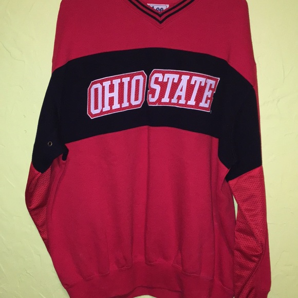 Lee Other - Ohio State pull over embroidered logo sweatshirt L